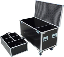 Flight case for Stairville LED PAR 56 Alu