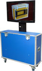 LCD case with lift